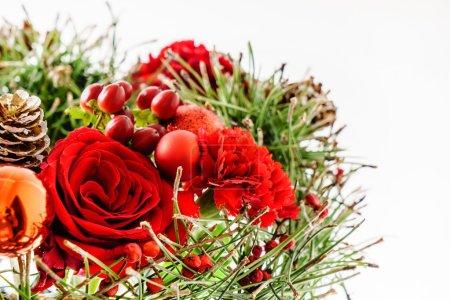 winter decoration bouquet
