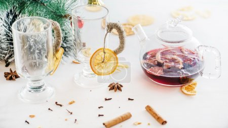 mulled alcohol wine
