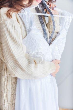 Beautiful Bride in a nice dress
