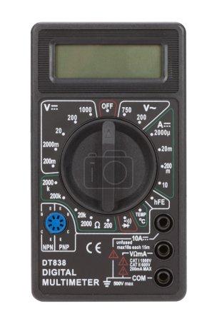 Black multimeter equipment