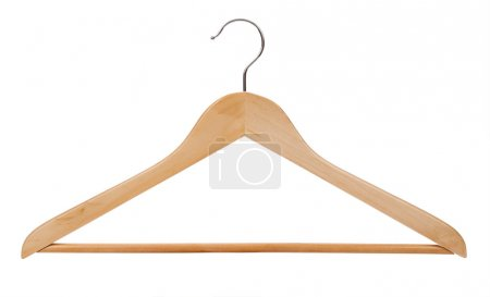 Hanger isolated on a white