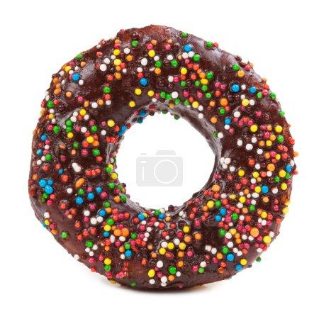 Tasty chocolate donut
