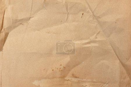 Photo pour Gros plan de papier froissé texture de fond - image libre de droit