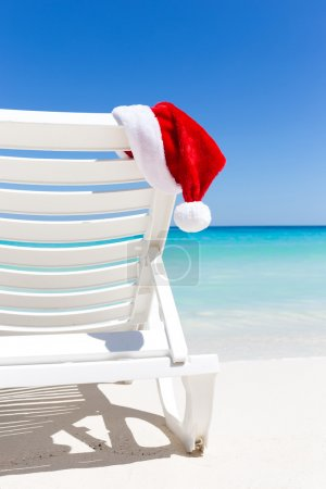 Tropical Christmas Card