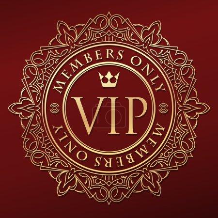 Riche décorer décor VIP or