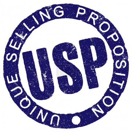 Rubber stamp USP