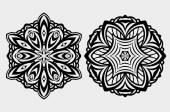 mandala round lace design
