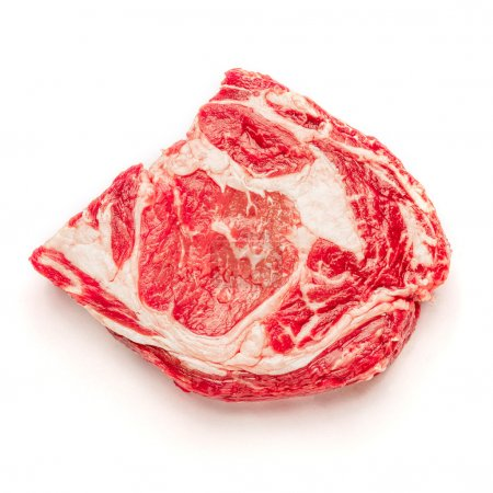 Uncooked organic shin of beef meat