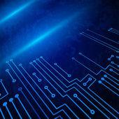 Drawing modern electronic circuit