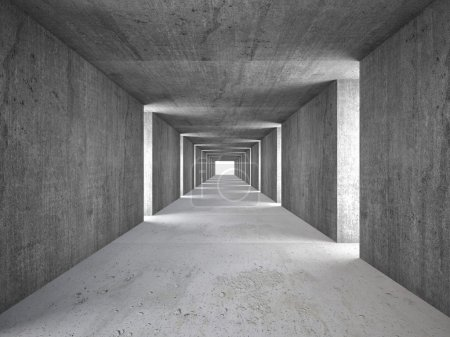 Photo for 3d image of abstract tunnel - Royalty Free Image