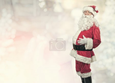 Photo for Portrait of classic santa claus - Royalty Free Image