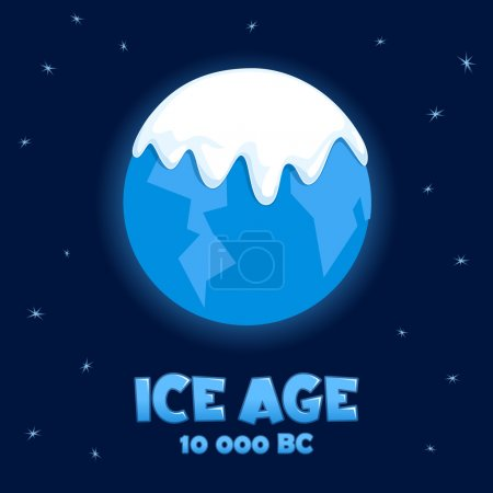"""Planet """"Earth"""" in the Ice Age"""