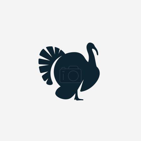 Illustration pour Icône Turquie, illustration vectorielle - image libre de droit