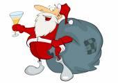Santa claus s dárky