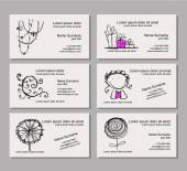 Business card template for your design