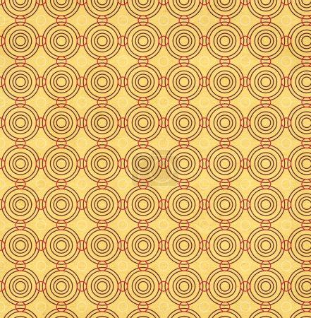 Photo pour Texture du vieux papier souillé avec motif décoratif géométrique - image libre de droit