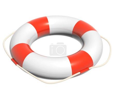 3d lifebuoy