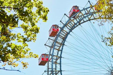 Famous Ferris Wheel of Vienna