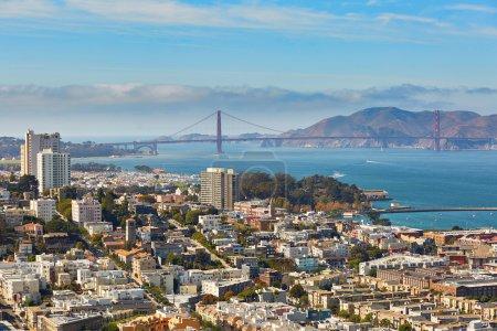 Scenic view of San Francisco, California, USA