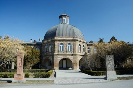 Gevorkian Theological Seminary of St. Echmiadzin.It is one of popular tourist destination and center of country religious life