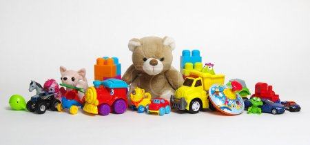 Photo for Toys on a white background - Royalty Free Image