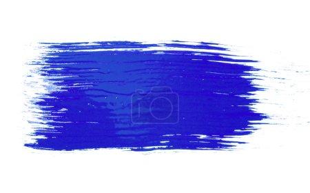 Photo pour Texture du pinceau isolé sur blanc - image libre de droit