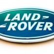 Постер, плакат: Land Rover dealership sign