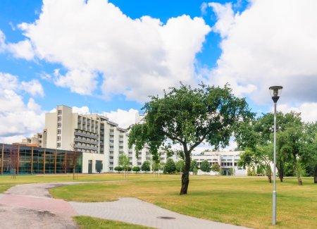 The complex of buildings of the Spa Resort Medical Egle sanatorium.  Druskininkai