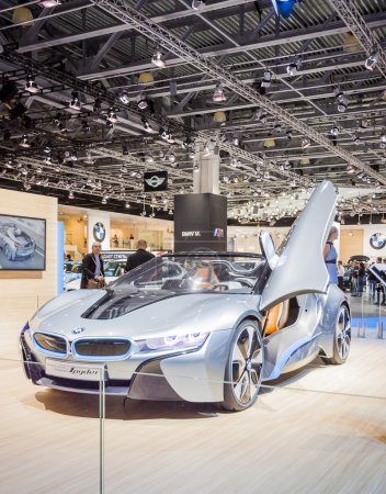 The European premiere of BMW i8 Concept Style Coup...