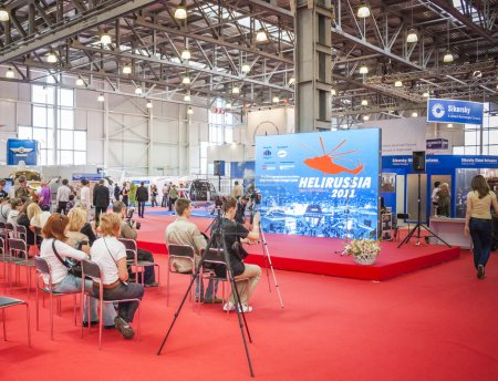 International Exhibition of Helicopter Industry on May 21, 2011 in Moscow