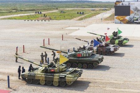 International competitions Tank Biathlon