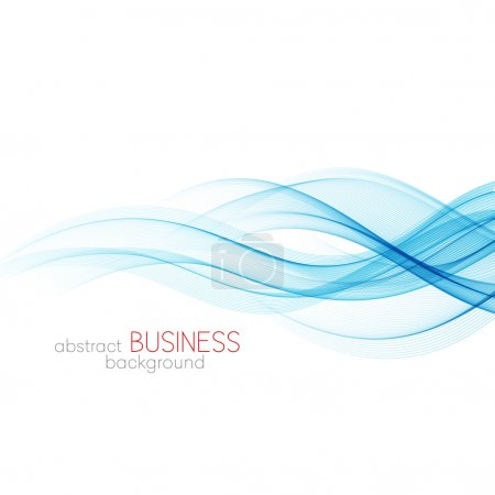 Abstract background, blue wavy