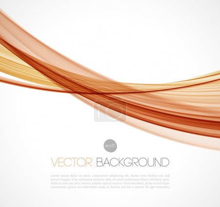 Abstract transparent fractal wave template  background brochure design