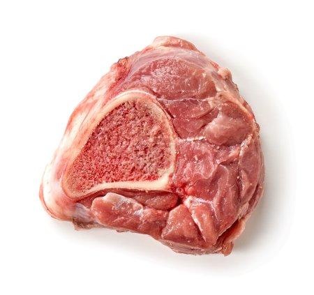 fresh raw meat slice