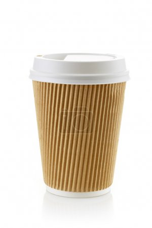 Paper take away coffee cup
