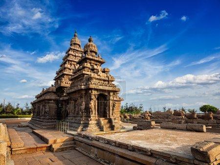 Shore temple - World heritage site in Mahabalipuram, Tamil Nad