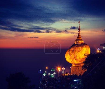 Golden Rock - Kyaiktiyo Pagoda, Myanmar