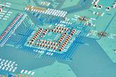 Elektronikus áramköri közelről