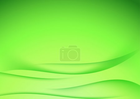 Green abstract template