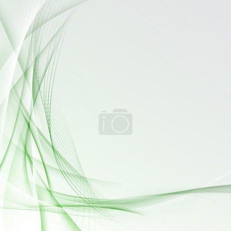 Transparent modern green border certificate