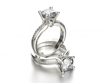 Engagement Ring with Diamond