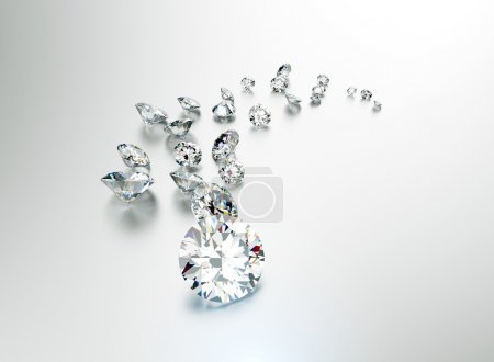 Jewelry Diamonds background