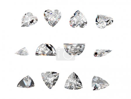 Gemstones collection set