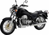 Motocykl obrázek. Vektorové ilustrace