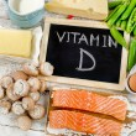 Food rich in vitamin D. Healthy eating...
