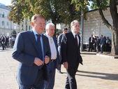 Former Presidents Leonid Kravchuk, Leonid Kuchma and Viktor Yushchenko