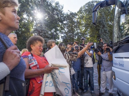 Soldiers' Mothers demand the Verkhovna Rada