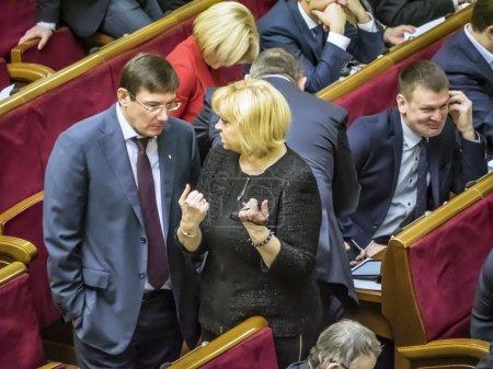 Alexandra Kuzhel and Yuriy Lutsenko