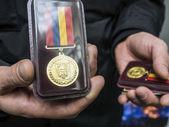Awarded fighters Battalion of Dzhokhar Dudayev