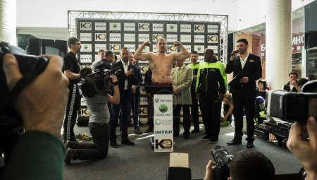 Usyk vs Knyazev ahead fight weigh-in